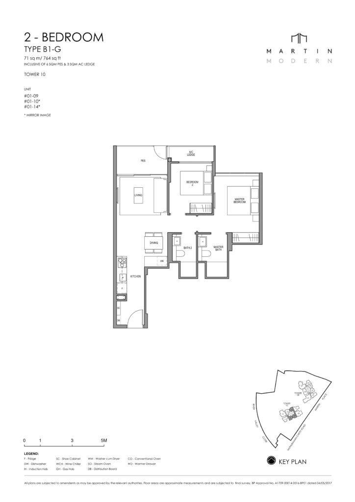 martin-modern-floorplan-singapore-condo-2-bedroom-layout-764sqft-district-9-condo-new-launch