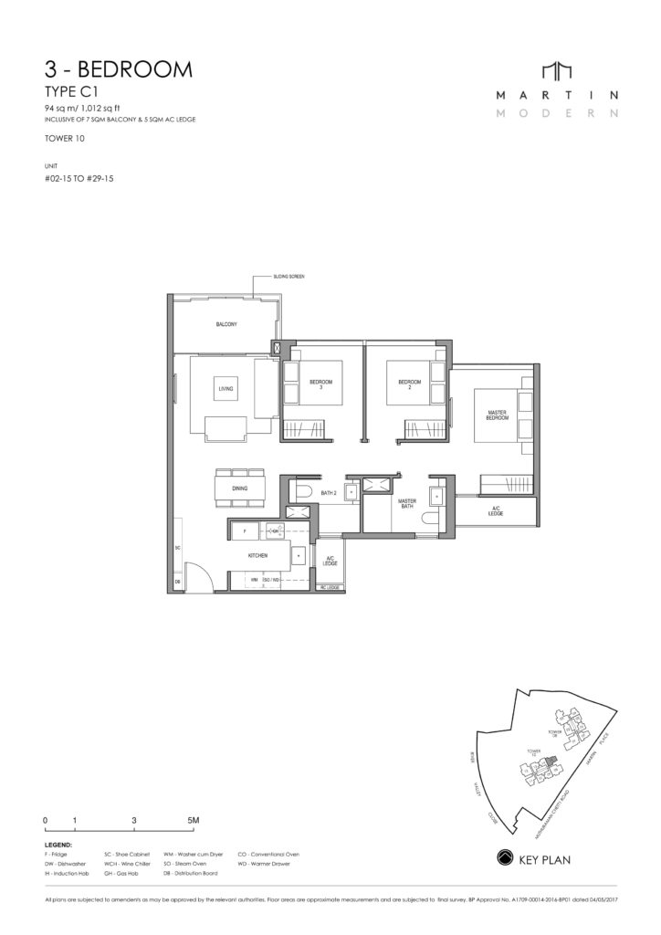 martin-modern-floorplan-singapore-condo-3-bedroom-layout-1012sqft-district-9-condo-new-launch