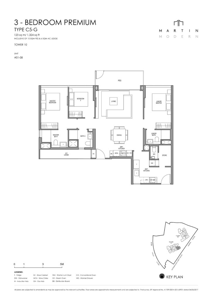 martin-modern-floorplan-singapore-condo-3-bedroom-premium-layout-1324sqft-district-9-condo-new-launch