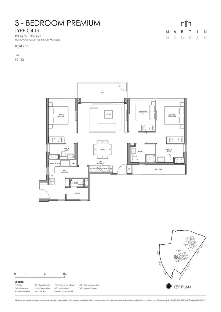 martin-modern-floorplan-singapore-condo-3-bedroom-premium-layout-1335sqft-district-9-condo-new-launch
