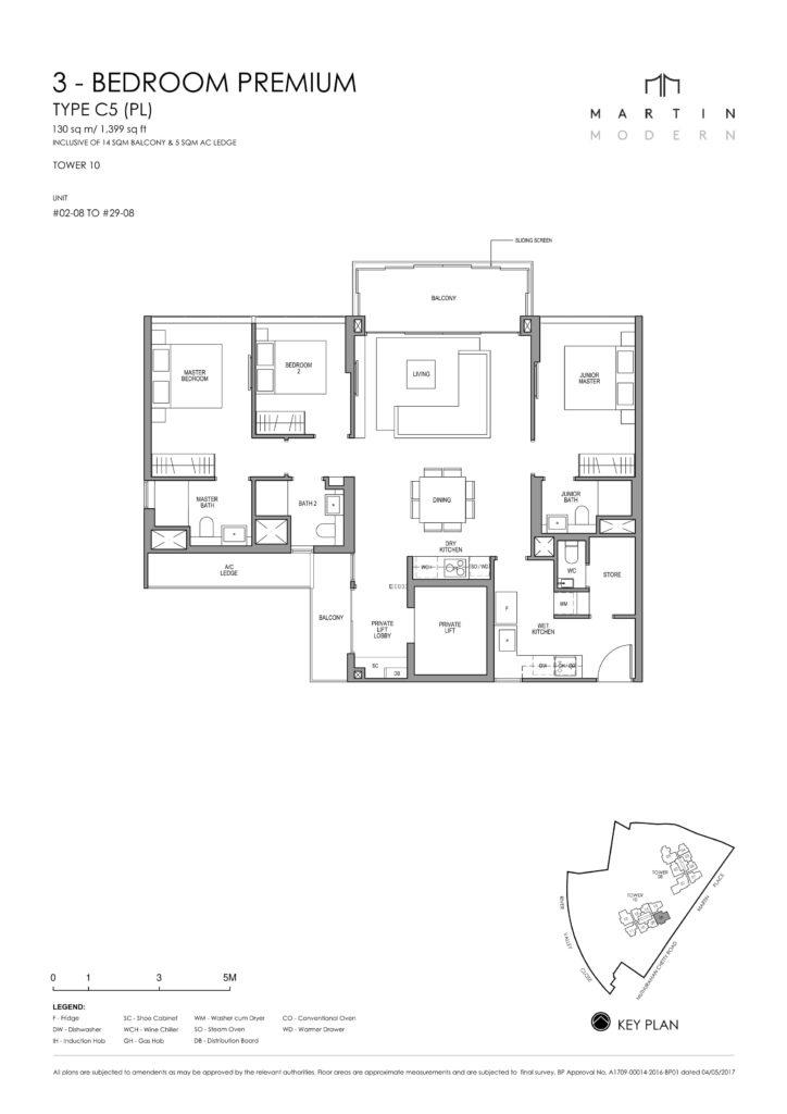 martin-modern-floorplan-singapore-condo-3-bedroom-premium-layout-1399sqft-district-9-condo-new-launch