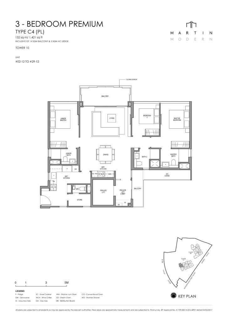 martin-modern-floorplan-singapore-condo-3-bedroom-premium-layout-1421sqft-district-9-condo-new-launch