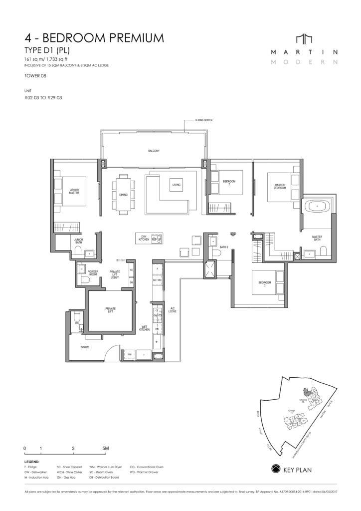 martin-modern-floorplan-singapore-condo-4-bedroom-premium-layout-1733sqft-district-9-condo-new-launch